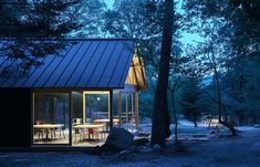 japanese design studio mori no terrace has created a camping café called 'terrace of the forest' using locally sourced material in osaka, japan. Osaka, Glamping, Getaway Cabins, Terrace Design, Interesting Buildings, Japanese Design, Residential Architecture, House In The Woods, Campsite
