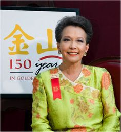 Vivienne Poy, Chinese born Canadian entrepreneur, author, historian, fashion designer and politician and the first Canadian senator of Asian Ancestry. Founder of the fashion design company, Vivienne Poy Mode.