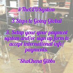 #TheCeoSystem #GlobalBrand
