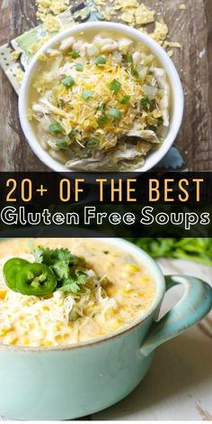 of the Best Gluten Free Soup Recipes perfect for the fall and winter months!… of the Best Gluten Free Soup Recipes perfect for the fall and winter months! You will love how easy this makes meal planning! Gluten Free Soup, Gluten Free Recipes For Dinner, Healthy Gluten Free Recipes, Dinner Recipes, Dinner Ideas, Dairy Free, Healthy Food, Vegan Recipes, Easy Chinese Recipes