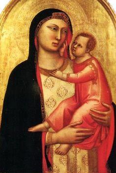 Lippo Memmi (Filippo di Memmo) ~ Madonna and Child, 1335