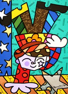 <>SOLD<> ROMERO BRITTO - STARS & STRIPES Size: 27 X 20 INCHESYear: 2000 Medium: MIXED MEDIA ON BOARDEdition: ORIGINAL Hand signed by the artist. Artwork is in excellent condition. Certificate of Authenticity included. Additional images available upon request. Please contact Melissa@GallArt.com - (305)932-6166 for pricing.