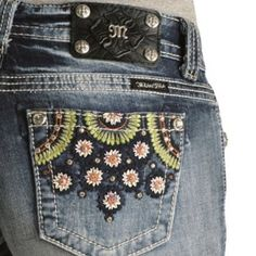 Miss Me Floral Rhinestones Short Its super cute short by Miss me, the front pockets & back designs consist of dark blue, white, rosy pink flowers with center rhinestones plus additional rhinestone accents surrounding the flowers. The corners of all of the pockets have the traditional, signature rhinestones, along with the edges containing unique green embroidery. NWOT Miss Me Shorts Jean Shorts