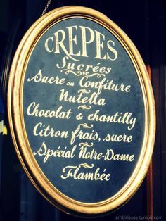 creperie ~ eat here