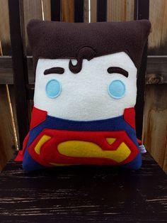 Superhéroe almohadilla amortiguador decoración de la