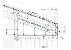 """Construir lo utilitario, marco la premisa de este encargo.   Por lo tanto toda la estrategia gira en torno a la prefiguración """"con anterioridad""""  de la eleccion tipologica. Los diferentes elementos de la composición, galerías, cubiertas inclinadas, ..."""