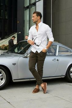 Looking for some smart business casual outfits? Try these 5 amazing business casual outfits you can try not to look sharp. Best Business Casual Outfits, Casual Shirts For Men, Men Casual, Classy Outfits, Casual Styles, Fashionable Outfits, Men Shirts, Casual Boots, Dress Casual