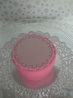 edible doilies for cakes