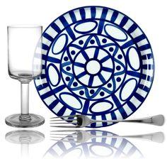 Arabesque by Dansk, Karin by Dansk Crystal, and Torun by Dansk Silver