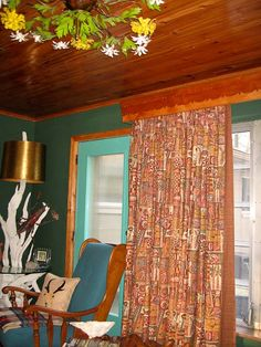 Cournices and valances.excellent wall colors as well. Window Cornices, Valances, Hollywood Regency, Pine Trim, Cornice Boards, Retro Renovation, Wood Molding, Paint Colors For Home, Design Quotes
