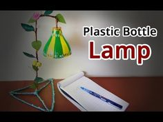 Recycled Craft Ideas : How to Make Lampshade From Plastic Bottles | Best Out of Waste Projects - YouTube