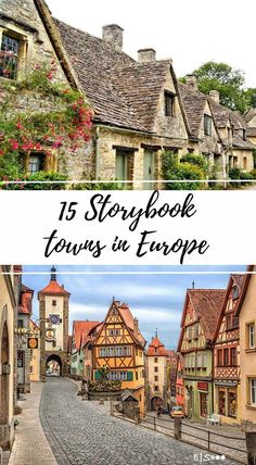 15 Storybook Towns in Europe