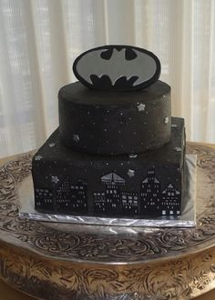 Maybe For My Brothers Birthdaybut With A Few Color Changes - Dark knight birthday cake