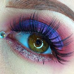 PROMISCUOUS- a beautiful color changing violet-blue! Use it alone, or combine it with black to reveal a completely different shade! FIXATED - a gorgeous matte g Makeup Inspo, Makeup Art, Makeup Inspiration, Beauty Makeup, Hair Makeup, Makeup Ideas, Makeup Brands, Best Makeup Products, Cool Makeup Looks
