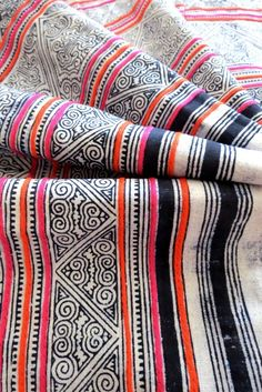 Textile Spotlight: Hmong Fabrics | Centsational Style