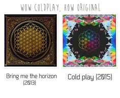 Rip off! I'm not a fan of Coldplay but seriously, they might as well have just copied the whole thing.