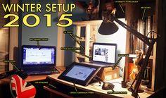 Winter Setup by soulspline.deviantart.com on @DeviantArt
