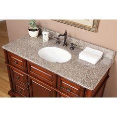 Costco Granite Countertops Cost Canada : ... on Pinterest 48 vanity, Marble vanity tops and Granite vanity tops