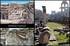 Basílica Julia • Foro Romano • Roma