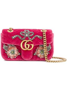 Gucci GG Marmont embroidered bag