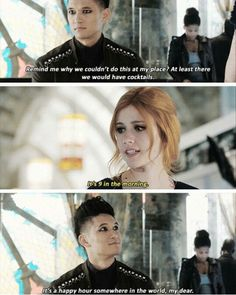 Season 1 Episode 12: Magnus and Clary