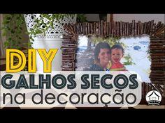 Porta retrato rústico - #clubedacasa - DIY-  Transformando madeira em de...