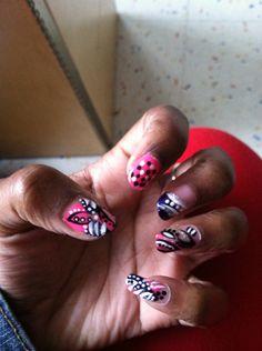 Quick nail art