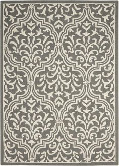 The LIN20 Grey/Ivory from the Linear collection is a hand hooked construction made of 100% wool in a traditional category of style. The rugs in this collection are approximately 1/2 inch thick and constructed in India by Nourison and ships brand new, first quality from their warehouse via UPS.