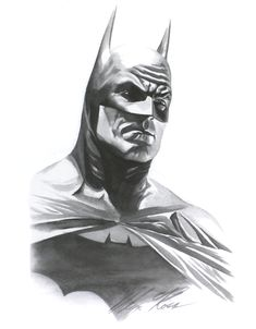 Black & white pencils of Superman by Alex Ross from KINGDOM COME. Description from pinterest.com. I searched for this on bing.com/images