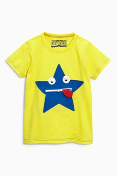Buy Yellow Star Character T-Shirt (3mths-6yrs) from the Next UK online shop