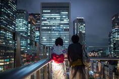lkazphoto:  Date night Marunouchi 丸の内
