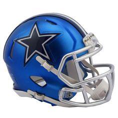 Riddell Dallas Cowboys Blaze Revolution Speed Mini Football Helmet #cowboys #nfl #dallas