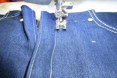 Zelf je perfecte spijkerbroek maken 1 » BERNINA Blog Denim Crafts, Handmade Christmas Gifts, Sewing Hacks, Sewing Tips, Hermes Birkin, Blog, Pants, Clothes, Projects