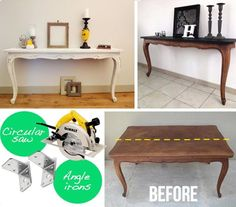 DIY Twin Tables