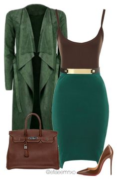 A fashion look from August 2015 featuring Poppy Lux mini skirts, Christian Louboutin pumps and Hermès handbags. Browse and shop related looks. I Love Fashion, Work Fashion, Autumn Fashion, Fashion Looks, Classy Outfits, Chic Outfits, Fashion Outfits, Womens Fashion, Fashion Trends