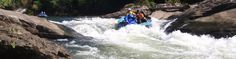 Rafting through the Obed Wild & Scenic River gorge