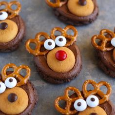 How to make Rudolph Cookies!
