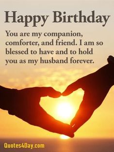 Best romantic birthday wishes for husband quotes ideas Birthday Message For Husband, Wishes For Husband, Birthday Wishes For Him, Birthday Quotes For Him, Happy Husband, Birthday Wishes Quotes, Birthday Love, Birthday Cakes, Birthday Ideas
