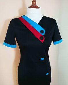 USED 80s VINTAGE WOMAN BLACK DRESS  Link in bio.📲 📦📍 #woman #vintage #dress #vintagestyle #50s #60s #70s #80s #90s #pinup #elegant #color #style Vintage Woman, Vintage Ladies, Dress Link, Vintage Dress, Pinup, Vintage Fashion, Elegant, Swimwear, Color