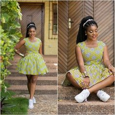 Stylish ideas for african fashion outfits 579 African Fashion Ankara, African Inspired Fashion, African Print Dresses, African Print Fashion, Africa Fashion, African Dress, African Attire, African Wear, African Women