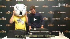 """Este es """"Benedict Cumberbatch interview in Shanghai"""" de  en Vimeo; el punto de encuentro entre los videos de alta calidad y sus fanáticos."""