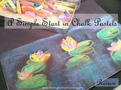 Harrington Harmonies: A Simple Start in Chalk Pastels by Tricia Hodges and Lucia Hames