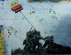 Political Posters - mcdonald's