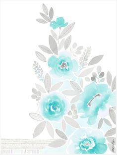 pretty please climb floral art print 12x16 by stephanie ryan $26