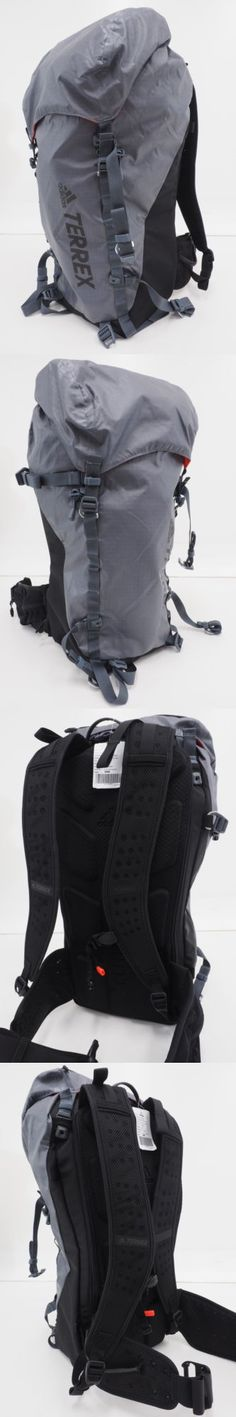 Backpacks 181379: New Adidas Terrex Solo 40 Hiking Camping Backpack 40L Capacity Waterproof (Gray) -> BUY IT NOW ONLY: $74.99 on eBay!