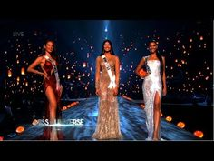 Miss Universe 2018 - Top 3 Full Performance [Philippines - South Africa - Venezuela] - YouTube
