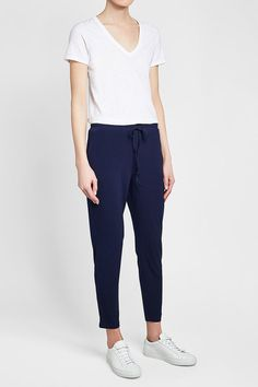 STEFFEN SCHRAUT - Drawstring Pants | STYLEBOP Drawstring Pants, Blue Fashion, Blue Style, Shopping, Women, Clothing, Women's