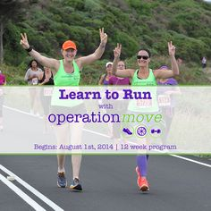 Learn to Run with Operation Move starts August 1