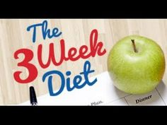 Diet Plan To Lose Weight Fast - The 3 Week Diet -- Click image to review more details.