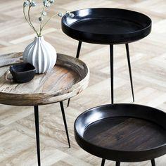 Bowl Table Series de chez MATER - je pense peut-etre trop chers... 300 euros la table.... A acheter sur internet en direct